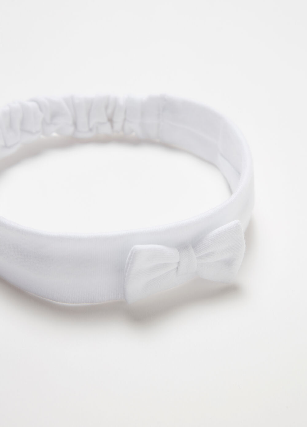 BCI band with bow in 100% cotton