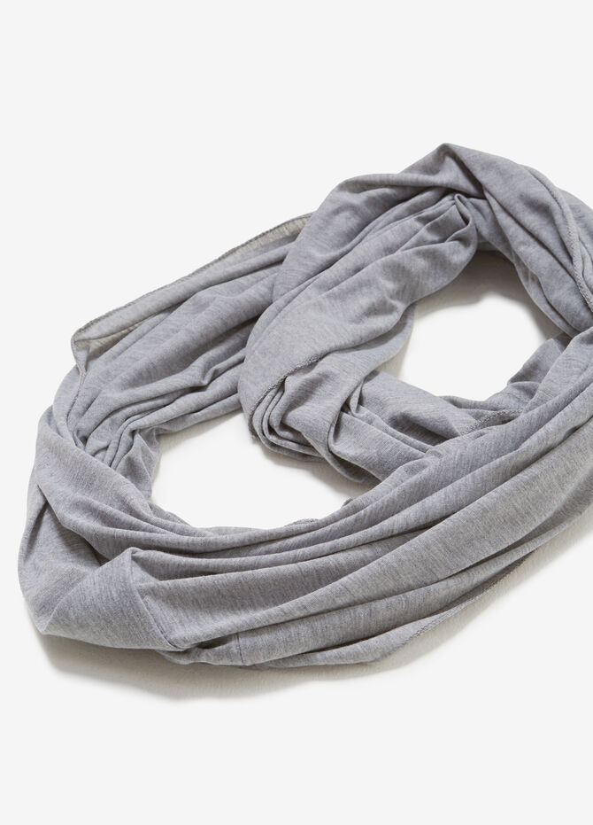100% cotton jersey neck warmer