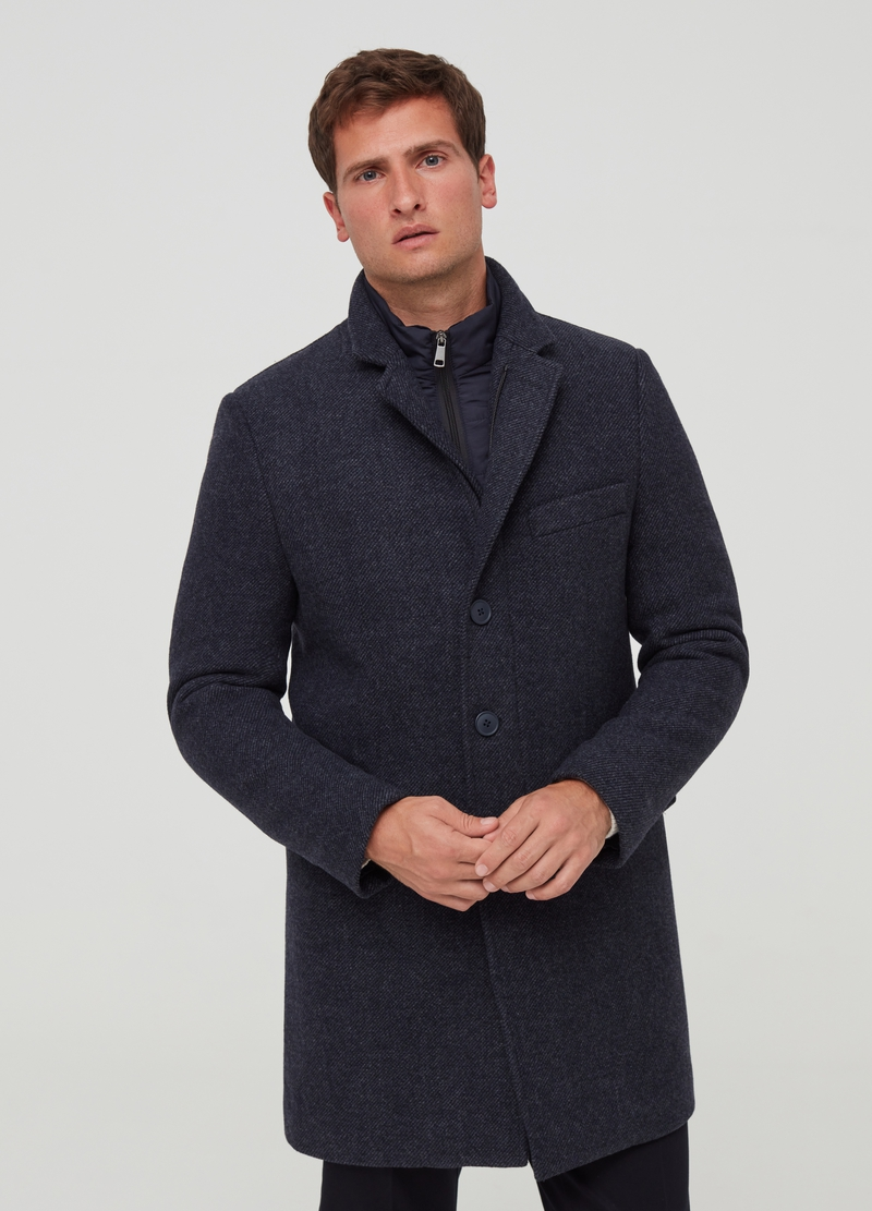 PIOMBO coat with padding image number null