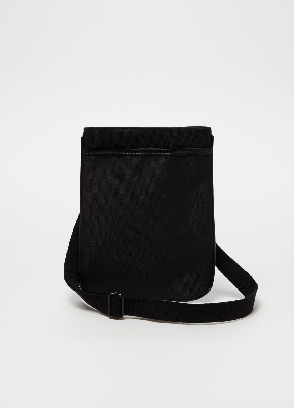 Solid colour shoulder bag
