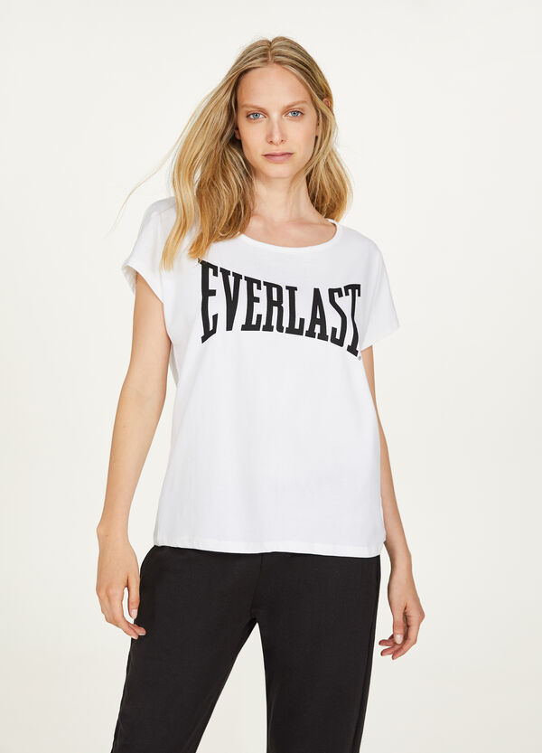 Everlast sporty stretch T-shirt in crossover