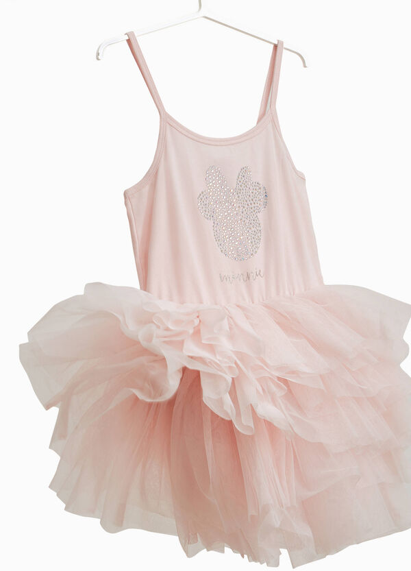 Minnie Mouse tulle dress with frills