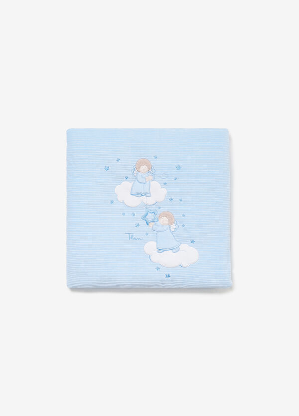 THUN Angels cotton blend blanket