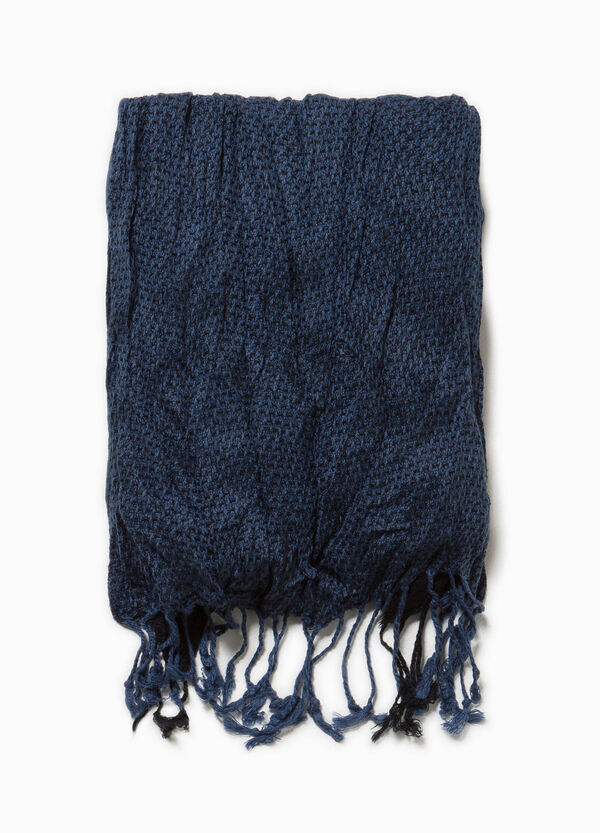 Scarf with long fringing | OVS