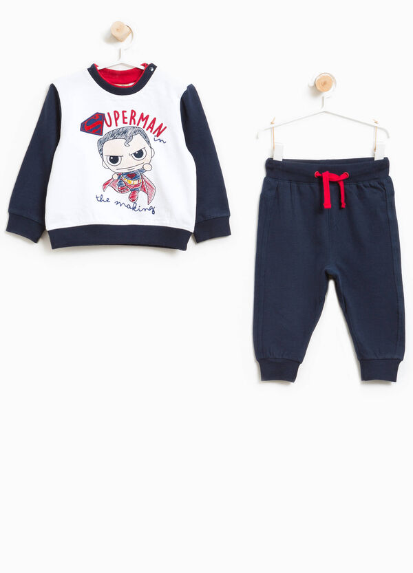 100% cotton tracksuit with Superman print | OVS