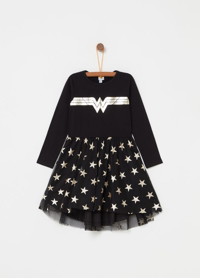 Vestitino con tulle Wonder Woman [DC COMICS]
