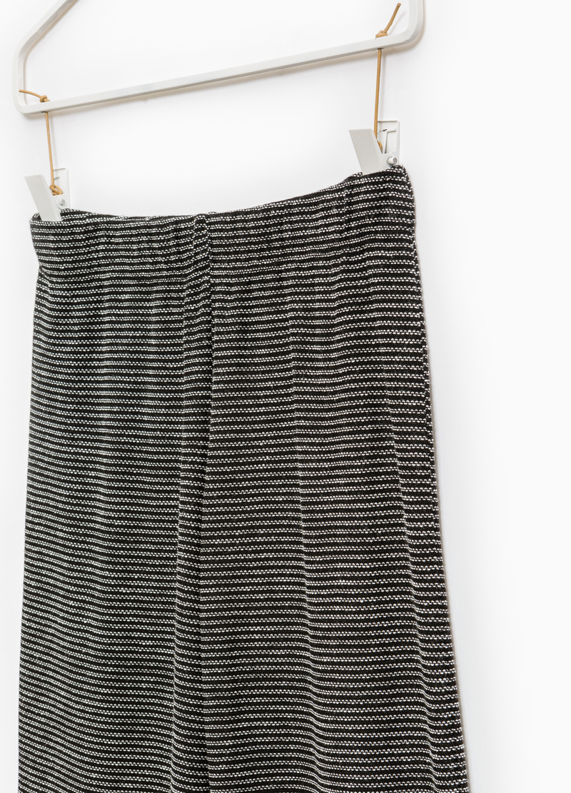 Smart Basic striped trousers image number null