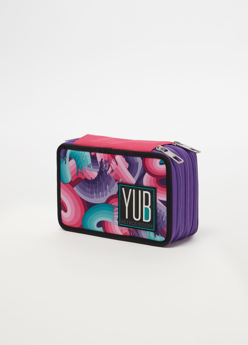 Case with 3 YUB zips