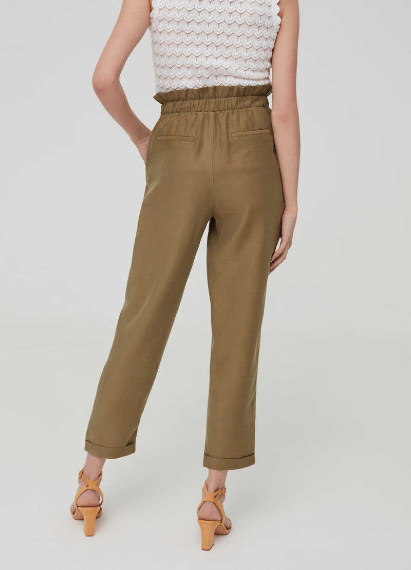 Trousers in Lyocell with pockets image number null