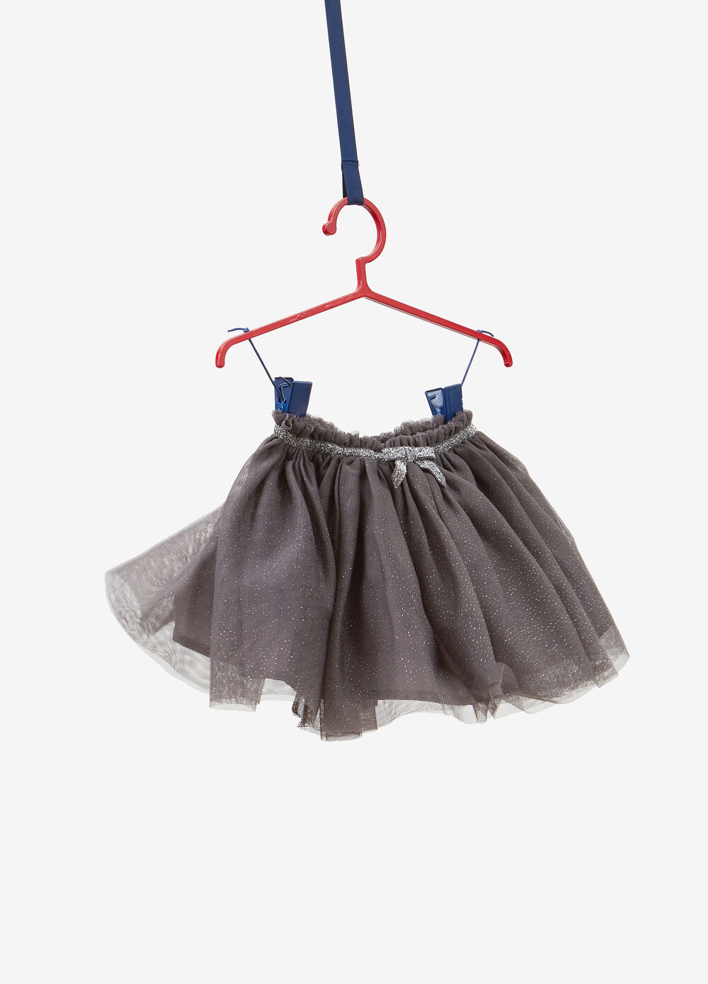 Tulle skirt with glitter