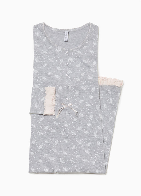Dandelion patterned nightshirt