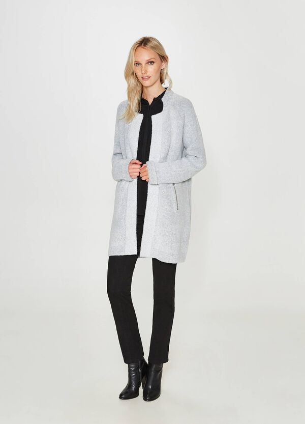 Long stretch knitted cardigan | OVS