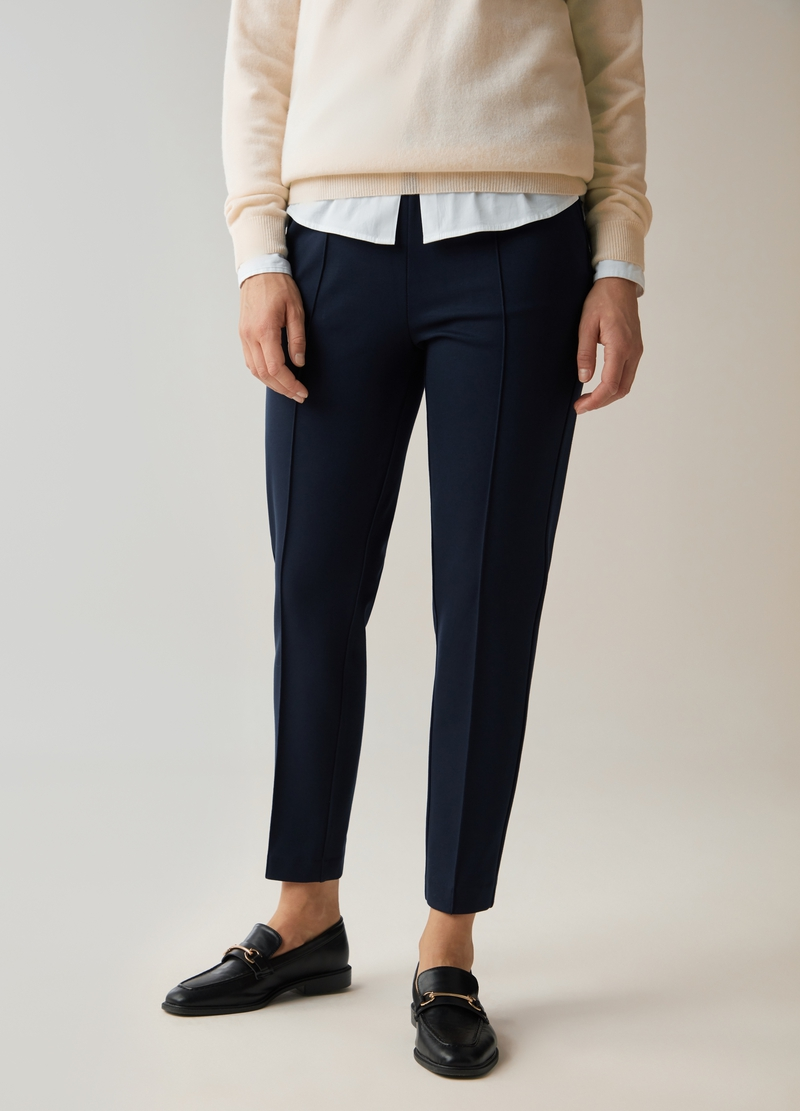 PIOMBO Pantalone comfort fit image number null
