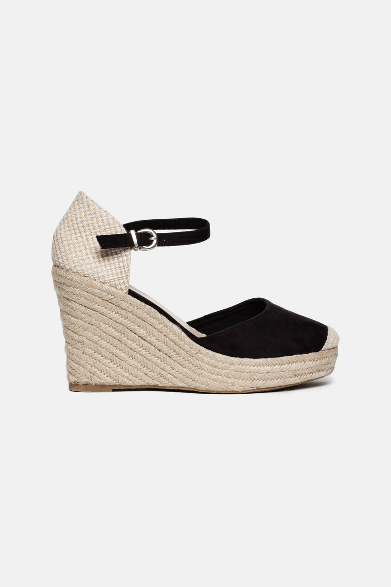 Sandals with rope heel image number null