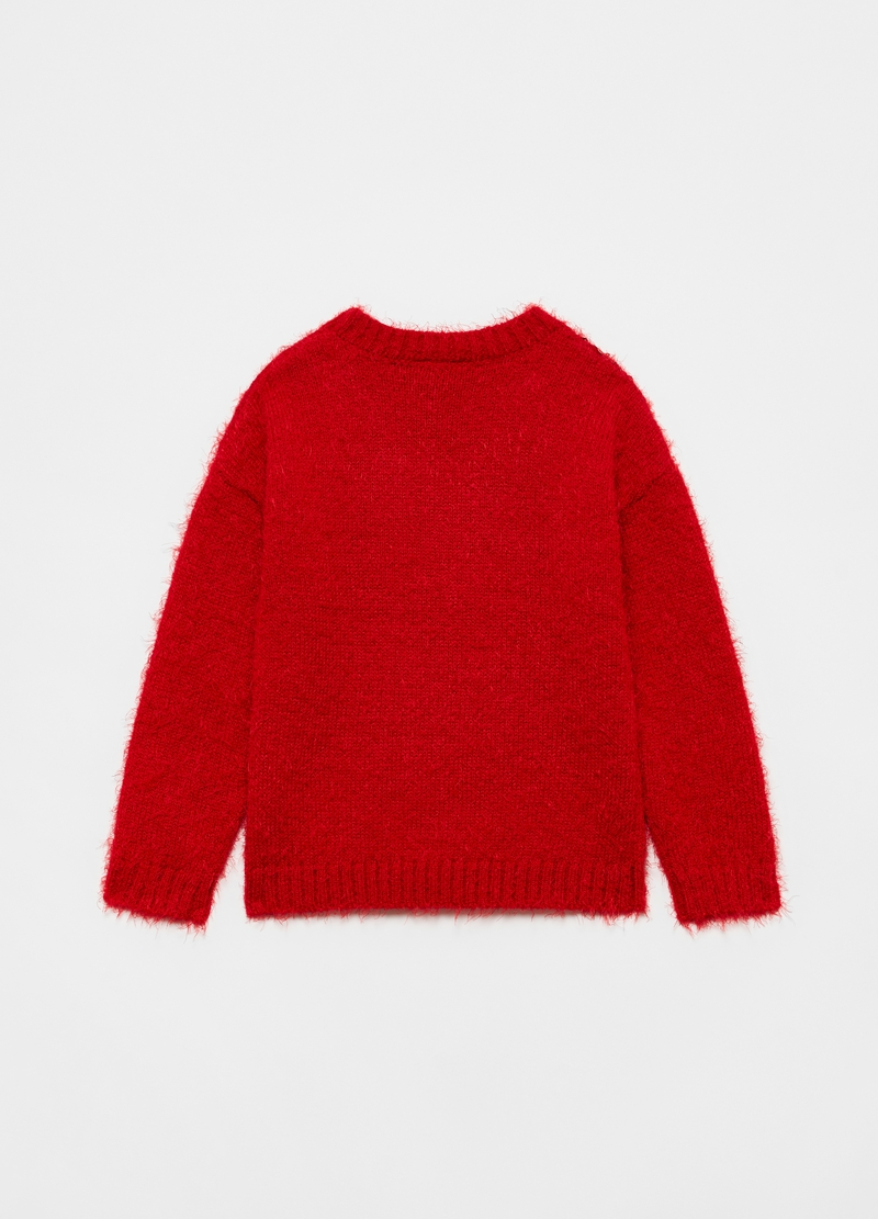Christmas jumper con paillettes image number null