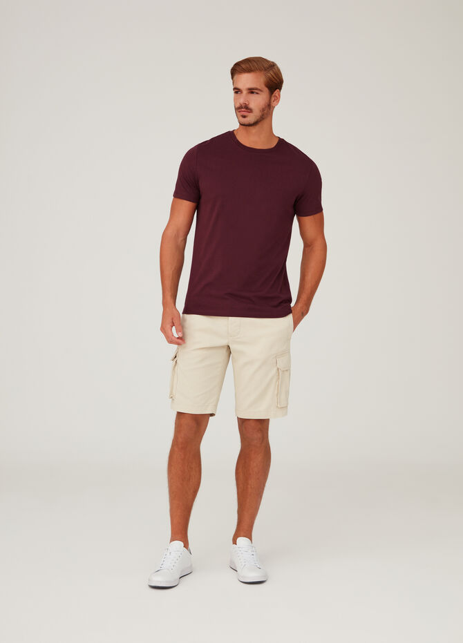 Short modello cargo regular fit puro cotone