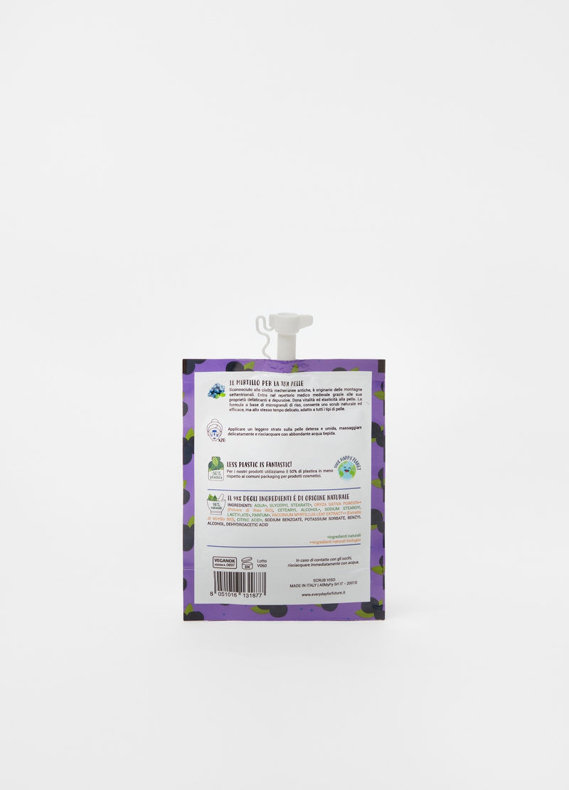 Blueberry face scrub image number null