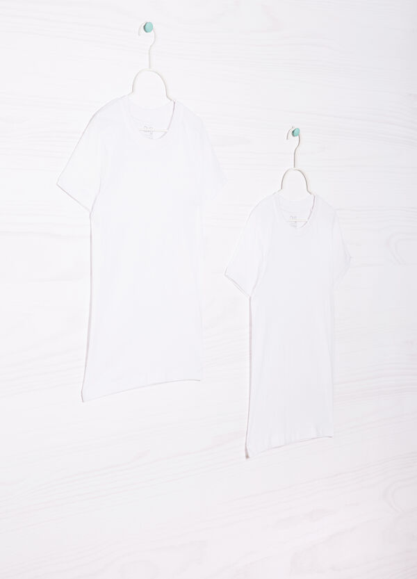 Two-pack solid colour T-shirts in cotton | OVS