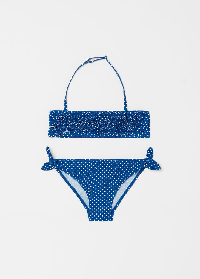 Bikini stretch fantasia a pois
