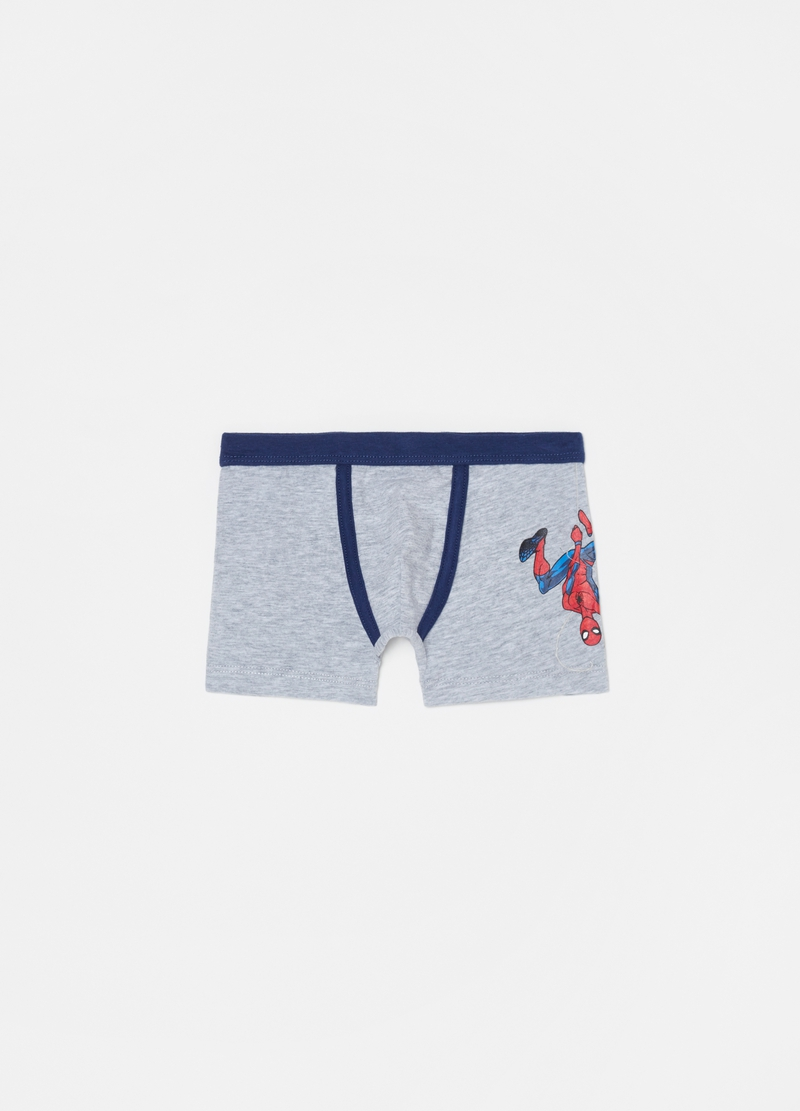 Two-pack boxer shorts with Spider-Man pattern image number null