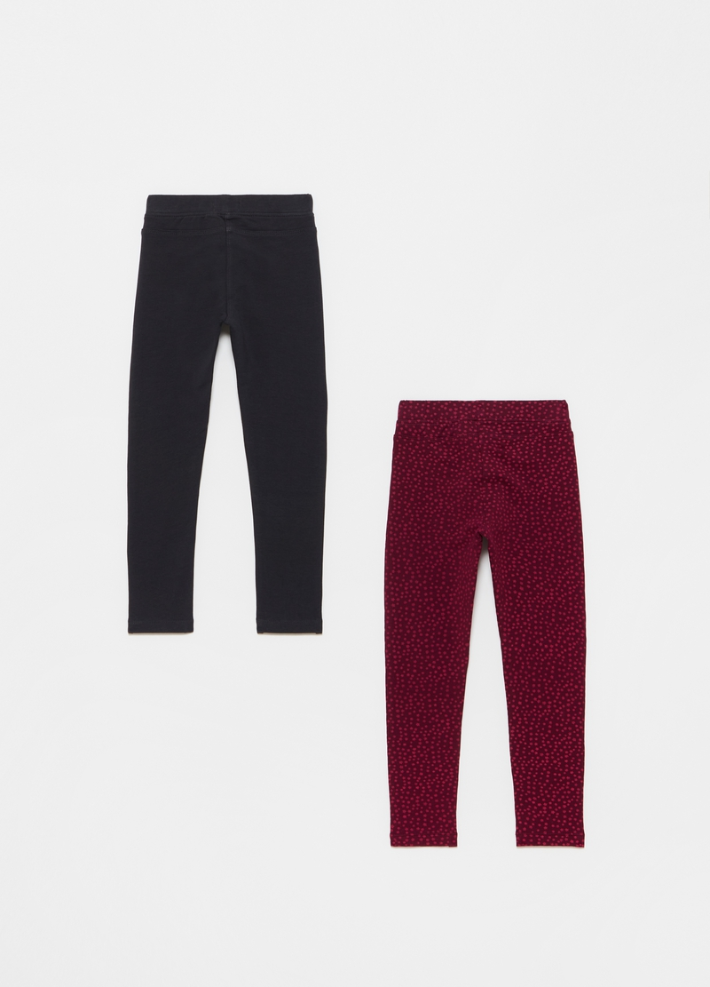 Bipack treggings cotone stretch image number null