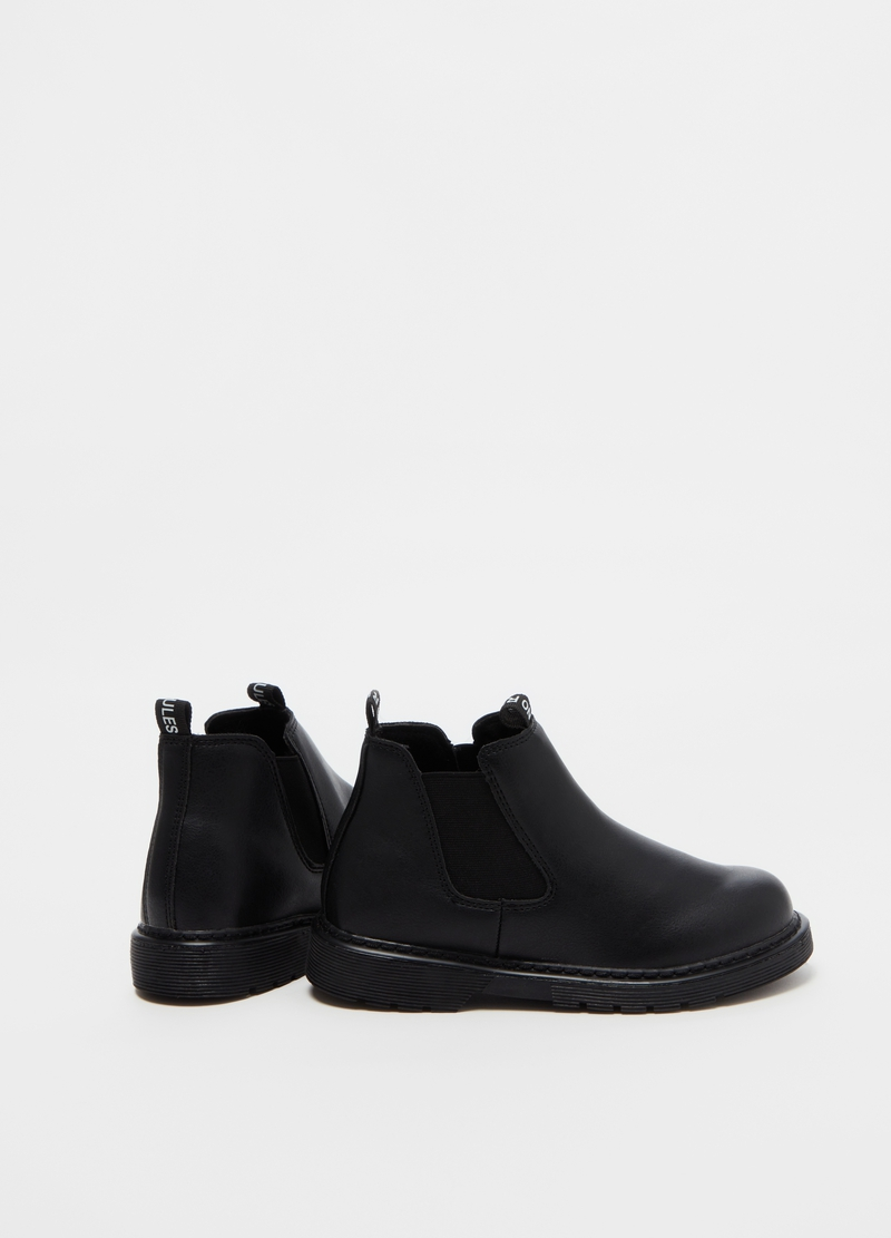 Ankle boots with elastics on the sides image number null