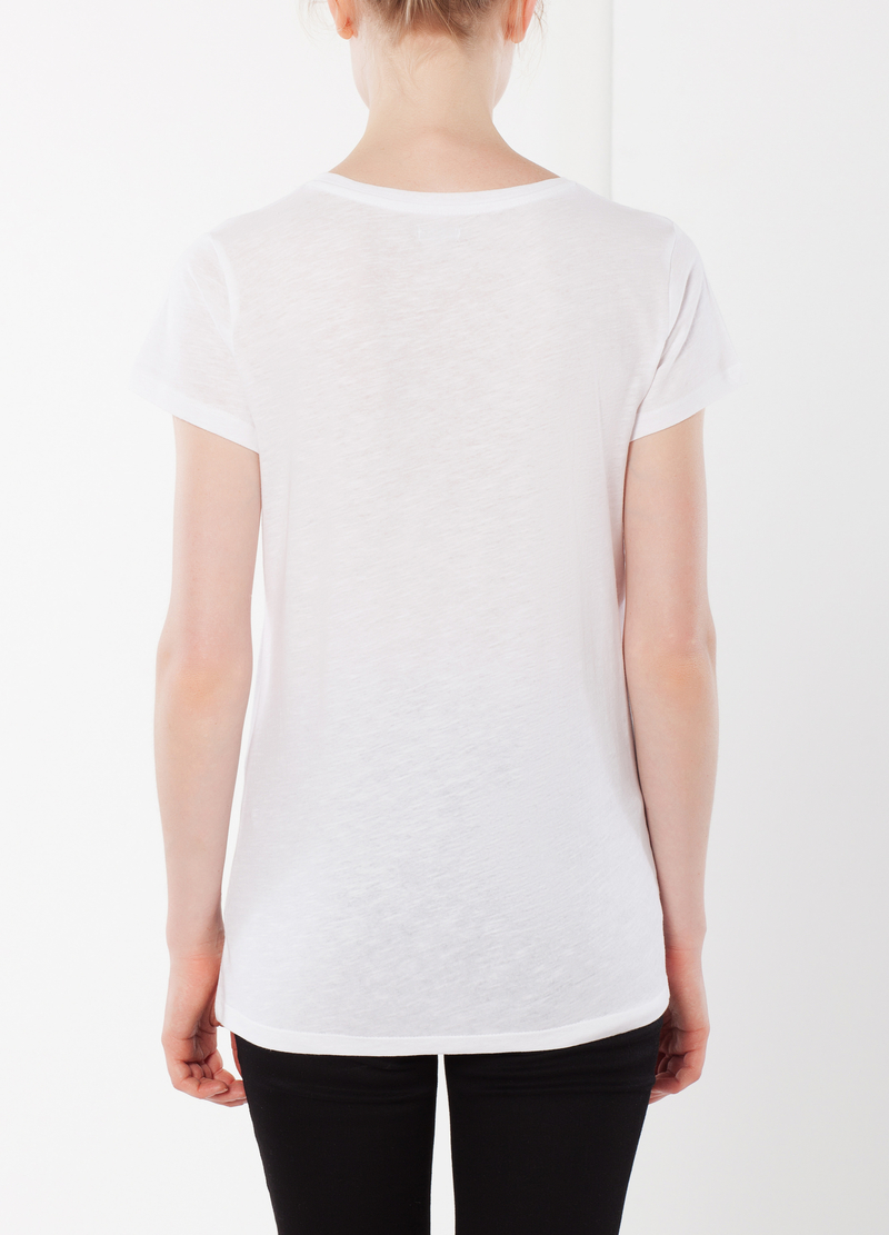 Short-sleeved T-shirt with glitter image number null