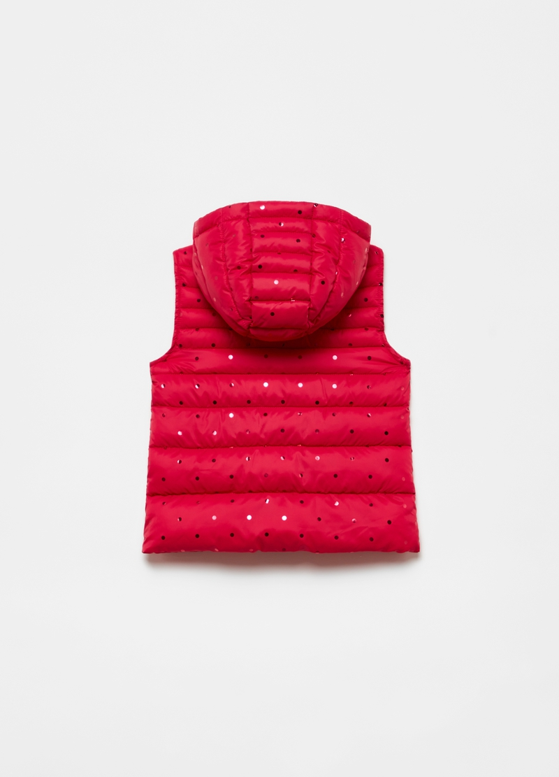Gilet ultralight a pois image number null