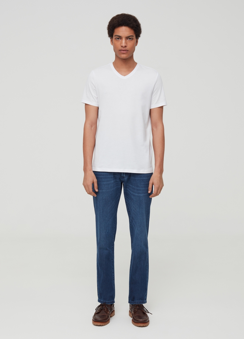 5-pocket, regular fit jeans image number null