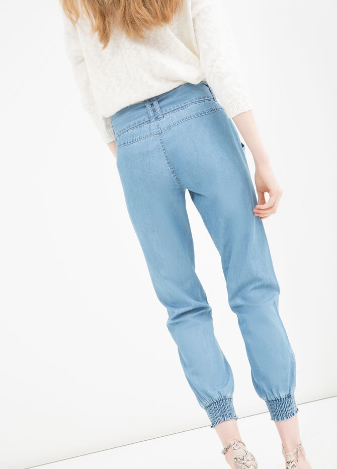 Regular fit jeans with belt