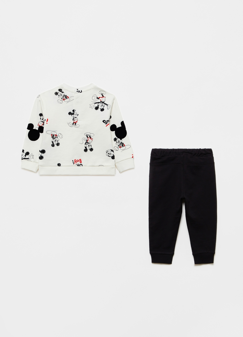 100% cotton jogging set with Mickey Mouse pattern image number null