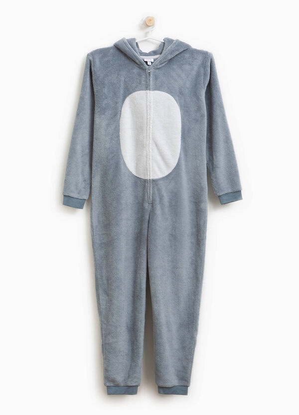 Sleepsuit with hood and zip | OVS
