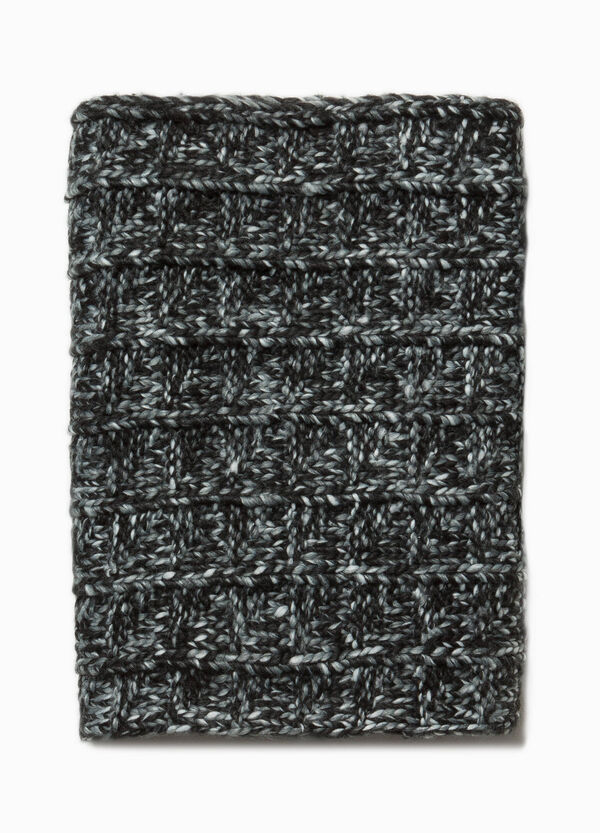 Knitted two-tone neck warmer | OVS