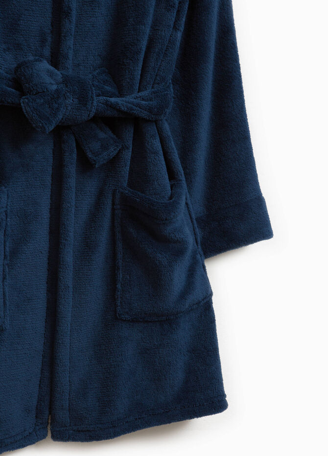 Solid colour robe