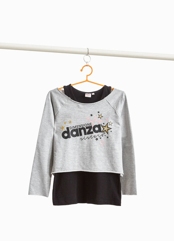 Dimensione Danza sweatshirt and top outfit