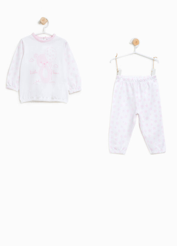 Star pyjamas in 100% organic cotton | OVS