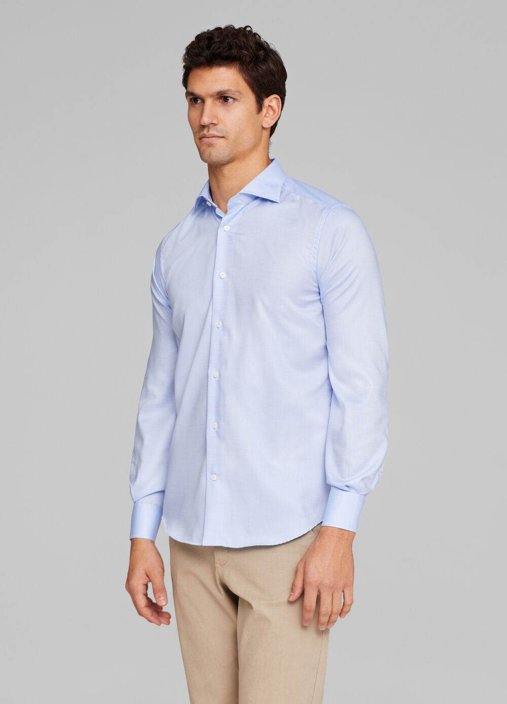 Slim fit formal shirt in 100% cotton