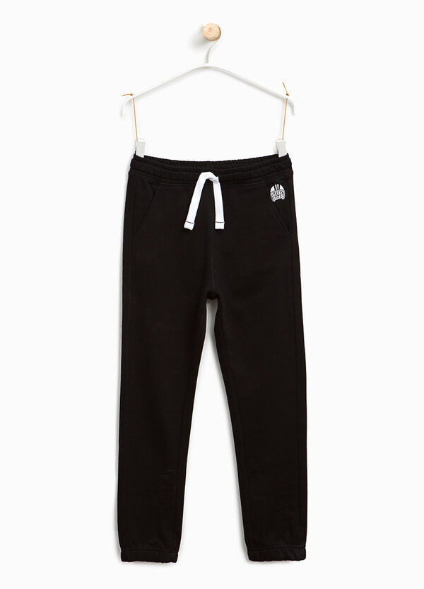 Joggers with pockets and print | OVS