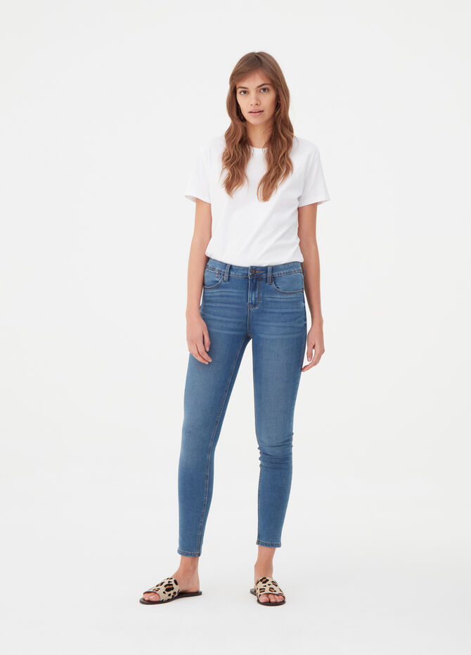 Jeans push up high recovering stretch