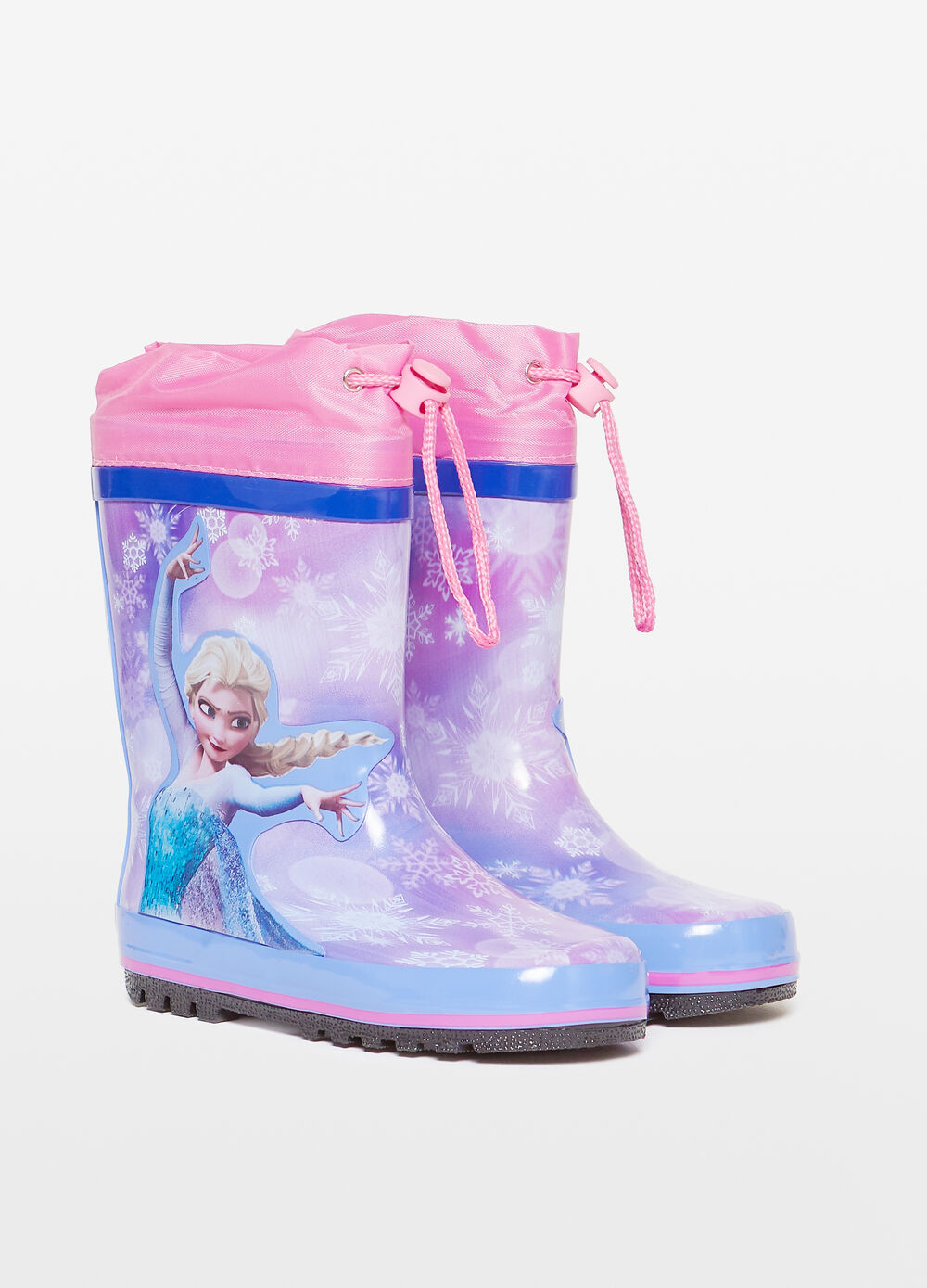 Rain boots with Frozen print