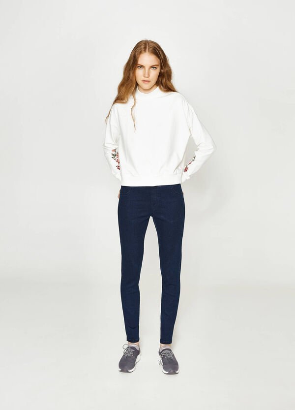Jeggings stretch tinta unita | OVS