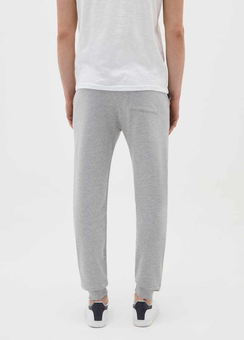 Joggers with drawstring and print image number null