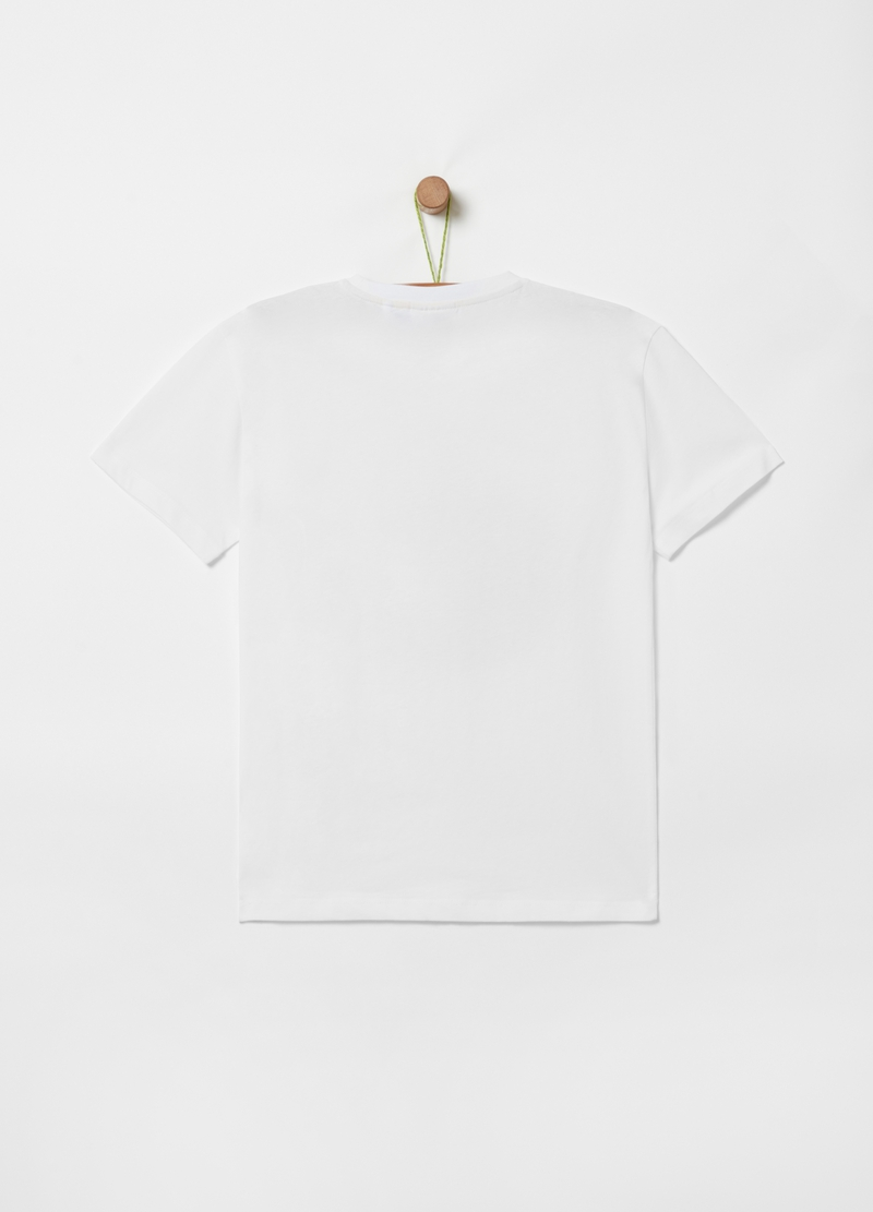 T-shirt stampa scheletro con surf image number null
