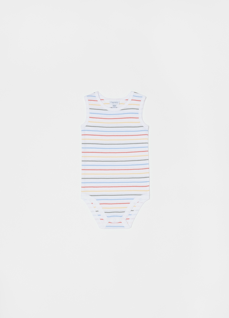 Three-pack 100% cotton bodysuits with print image number null