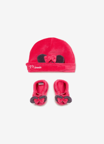 Minnie Mouse set with hat and shoes