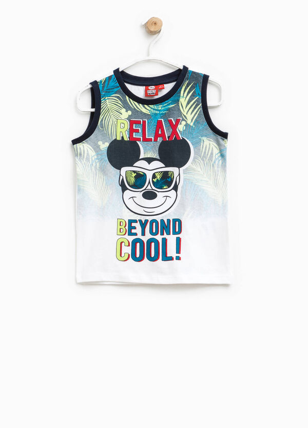 Vest with maxi Mickey Mouse print   OVS
