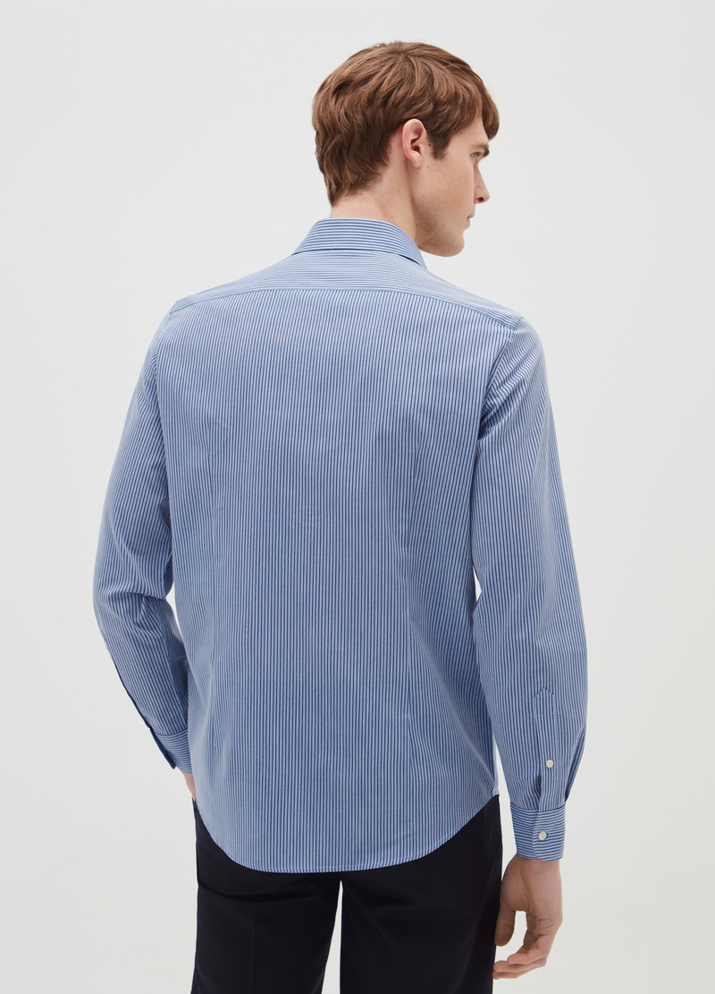 Camicia slim fit a righe image number null
