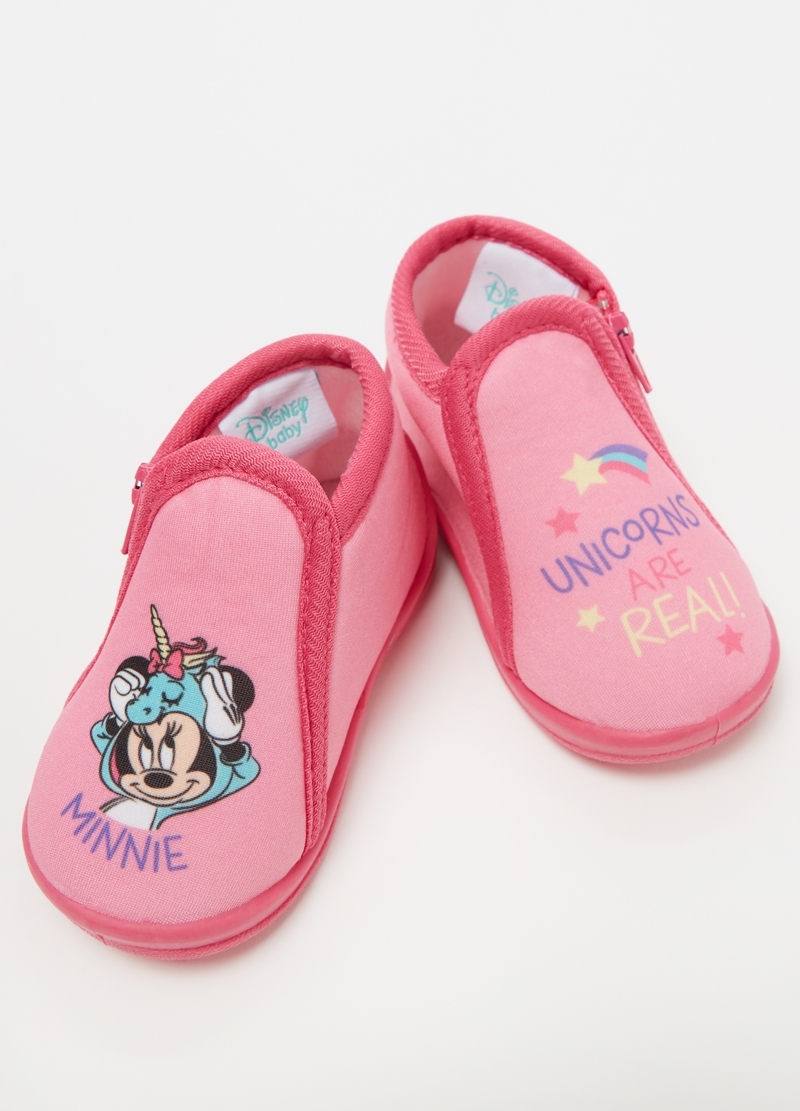 Pantofoline con stampa Disney Minnie image number null