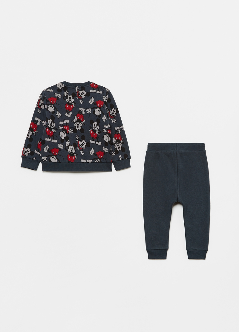 Jogging set with Mickey Mouse embroidery and pattern image number null