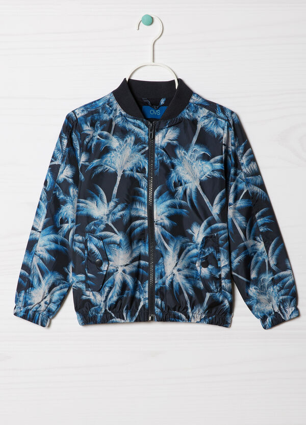 Patterned jacket with high neck | OVS